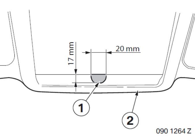BMW Electrochromatic Interior Mirror with Compass Garage Door Opener (6)
