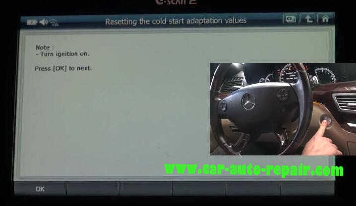 G-Scan2 benz throttle learning resetting the cold start adaptation value (12)