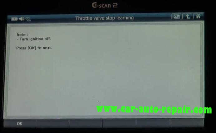 G-Scan2 benz throttle learning resetting the cold start adaptation value (5)