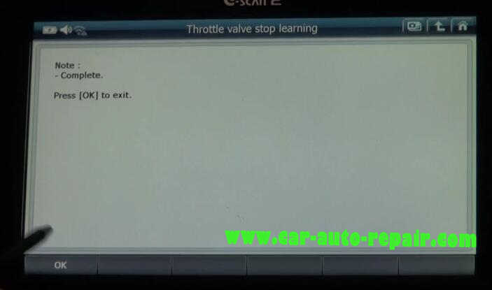 G-Scan2 benz throttle learning resetting the cold start adaptation value (7)