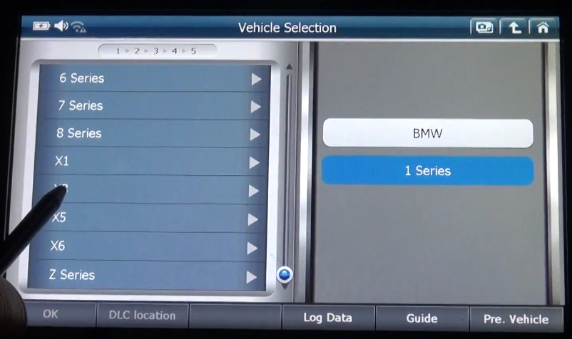 G-scan2 Perform Valvetronic Limit Position Function on BMW X3 F25 2013 (3)