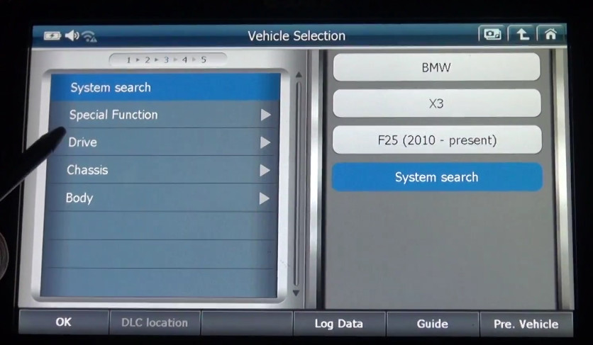 G-scan2 Perform Valvetronic Limit Position Function on BMW X3 F25 2013 (5)
