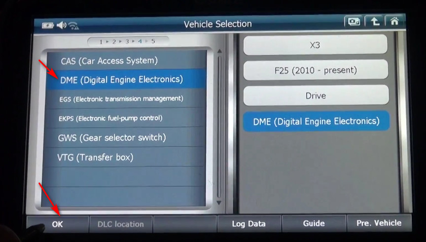 G-scan2 Perform Valvetronic Limit Position Function on BMW X3 F25 2013 (6)