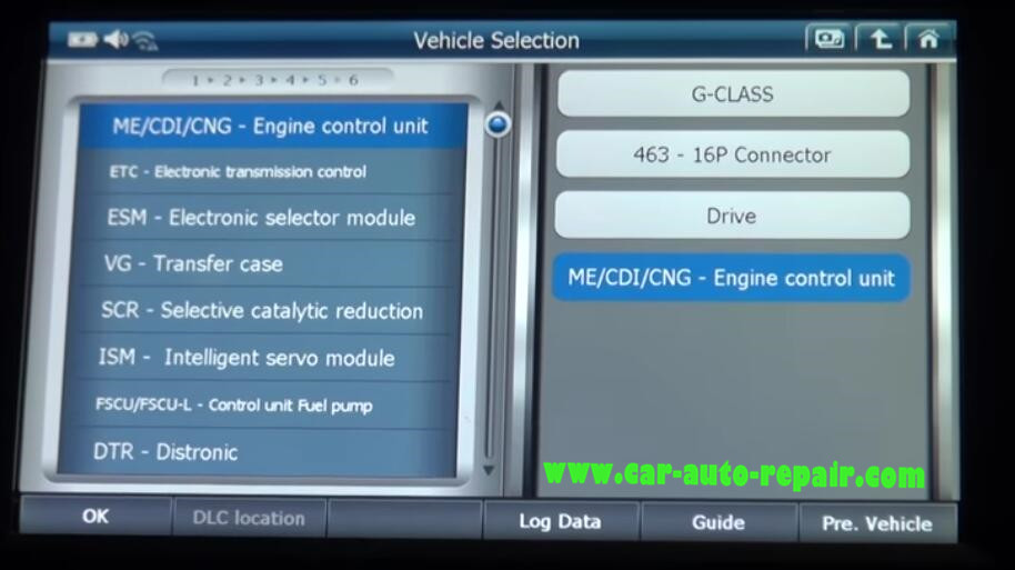 Gscan2 Reset Engine Sensor & Mixture Adaptation for Benz G-Class (1)