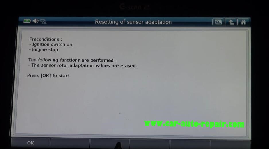 Gscan2 Reset Engine Sensor & Mixture Adaptation for Benz G-Class (5)