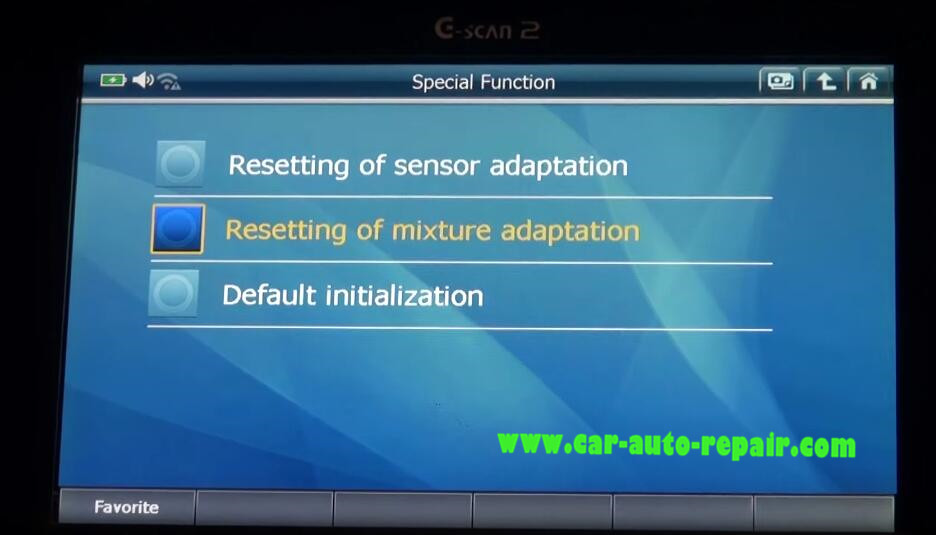 Gscan2 Reset Engine Sensor & Mixture Adaptation for Benz G-Class (6)
