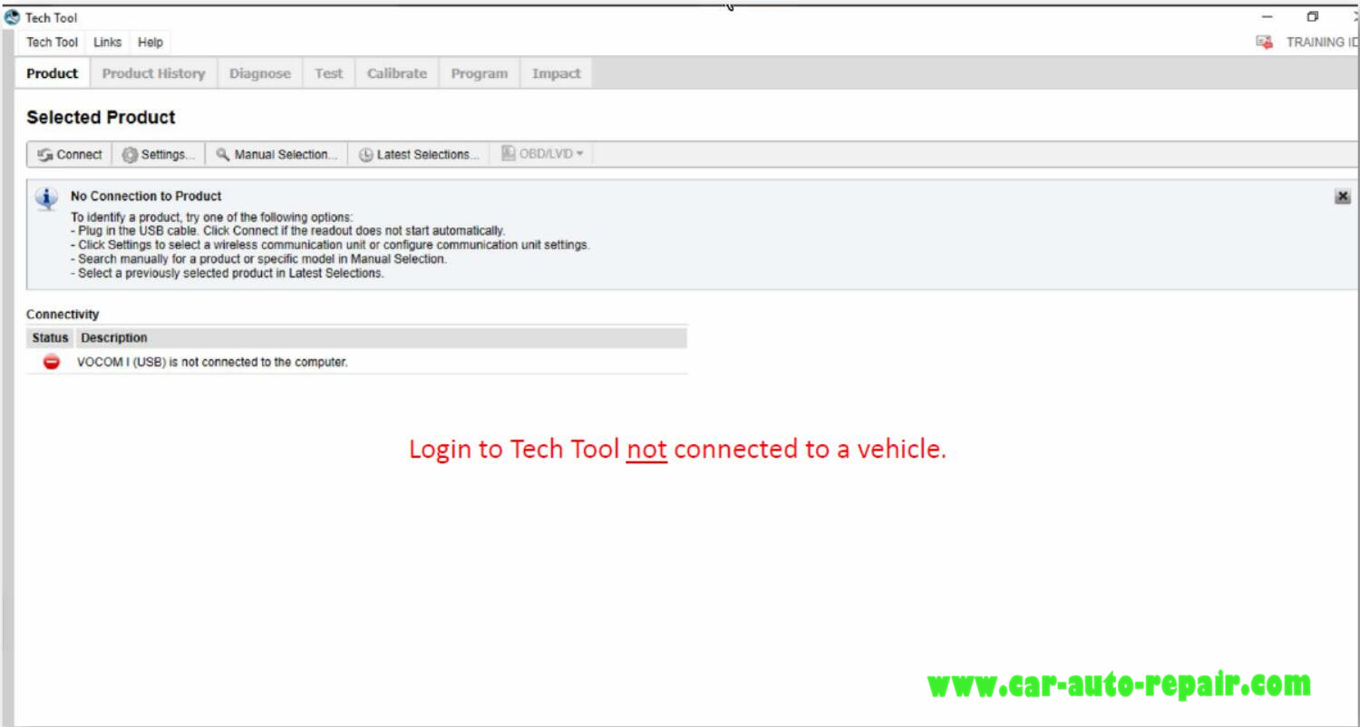 How to Use Volvo PTT Select DTCs Manually (1)