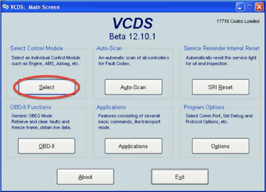 VCDS Solve Audi MMI