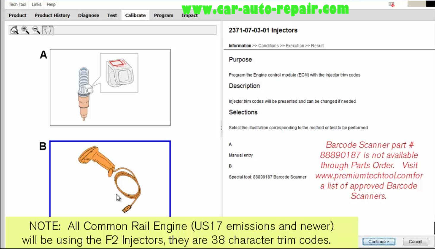 Volvo PTT Calibrate Injectors Trim Codes (4)