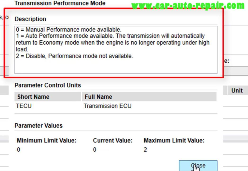 Volvo PTT Change Transmission Performance Mode (7)