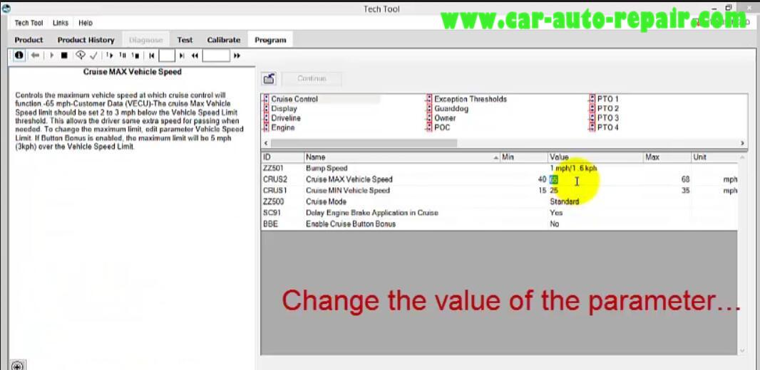 Volvo PTT Do Parameter Programming for Mack I II III (11)