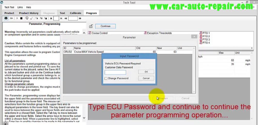 Volvo PTT Do Parameter Programming for Mack I II III (14)