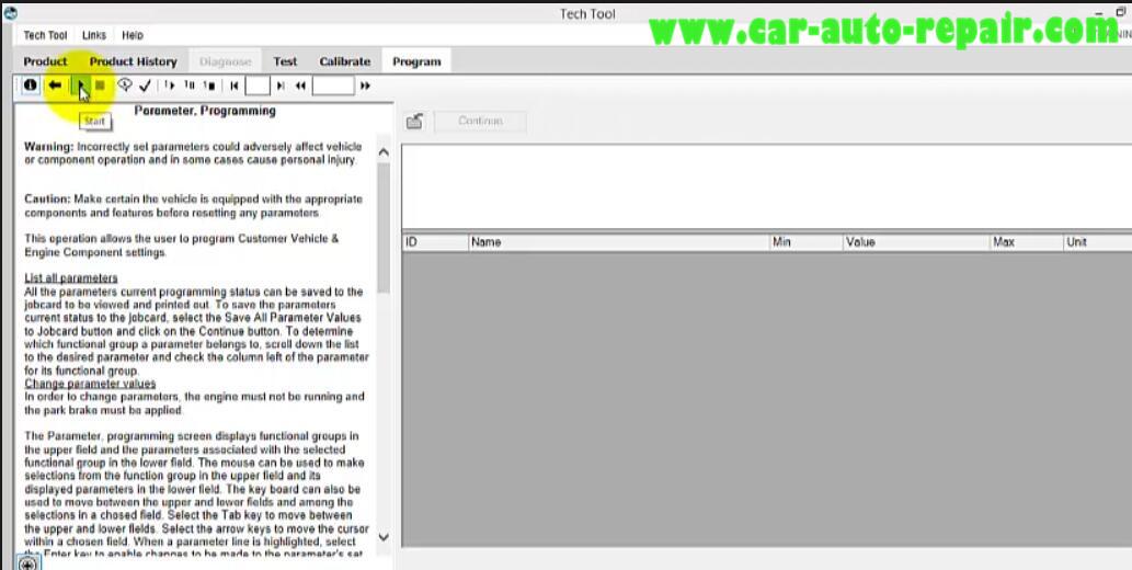 Volvo PTT Do Parameter Programming for Mack I II III (8)
