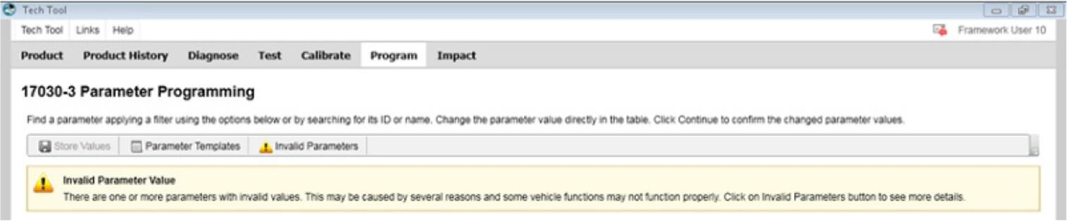 Volvo PTT Invalid Parameter Values Operation Guide (1)