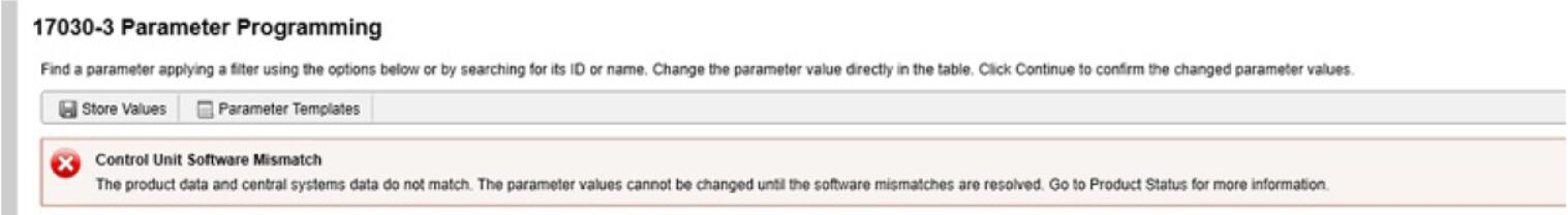 Volvo PTT Invalid Parameter Values Operation Guide (4)