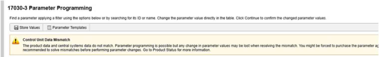 Volvo PTT Invalid Parameter Values Operation Guide (5)