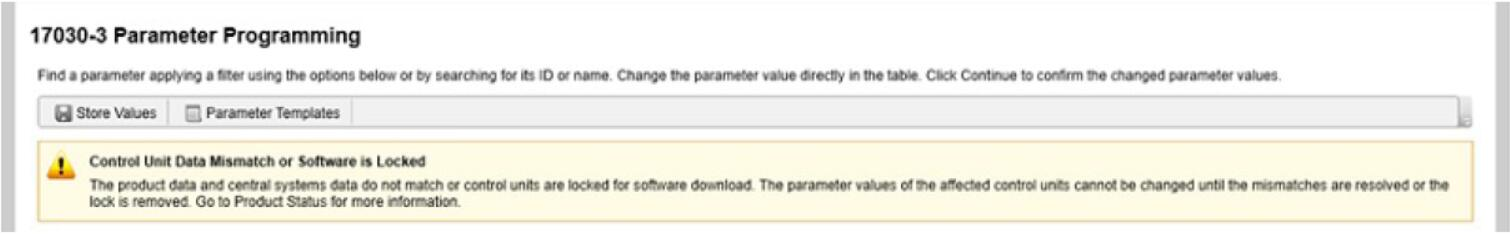 Volvo PTT Invalid Parameter Values Operation Guide (6)