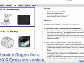 Volvo PTT Perform DPF Service Regeneration for 2017 Emission Vehicle (4)