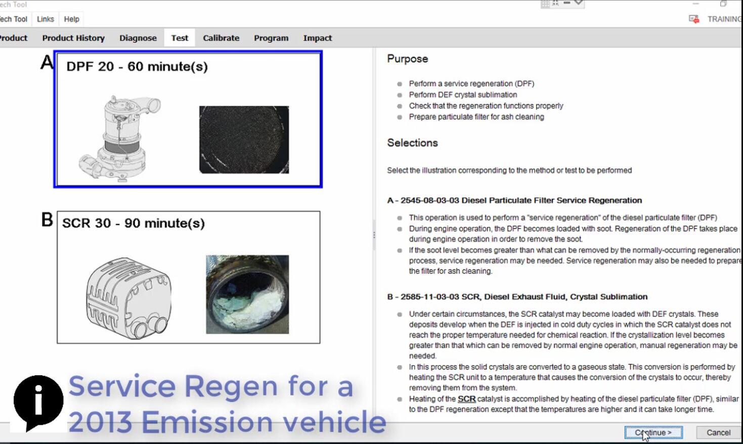 Volvo PTT Perform DPF Service Regeneration for 2017 Emission Vehicle (4)