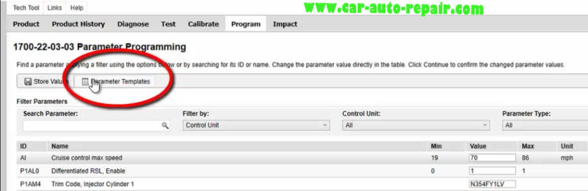Volvo PTT Perform Newer Parameter Template Programming Guide (12)