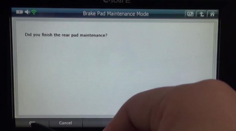 G-scan2 Honda HR-V 2015 Rear Brake Pad MaintenanceProgramming (4)