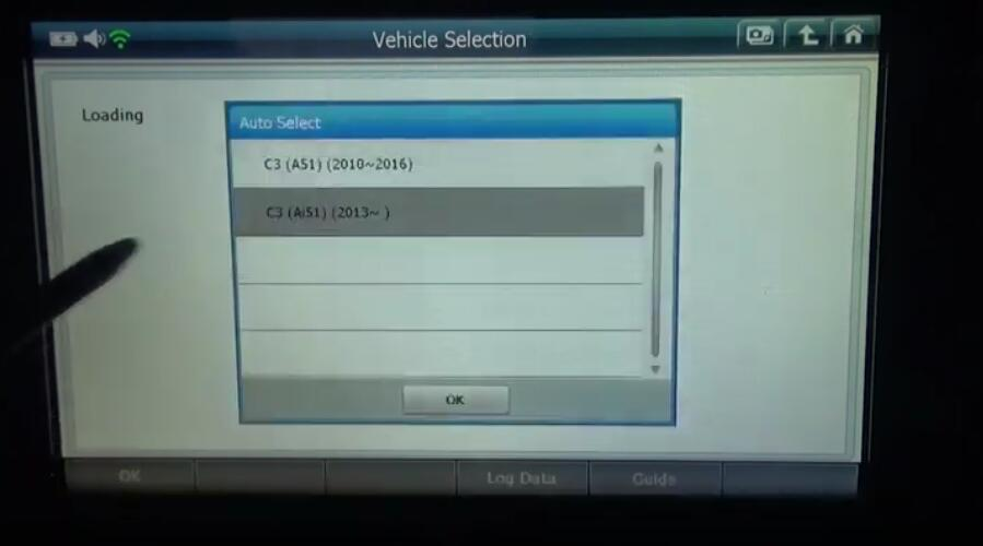 G-scan2 Initialize Adaptive Values for Citroen C3 2017 (3)
