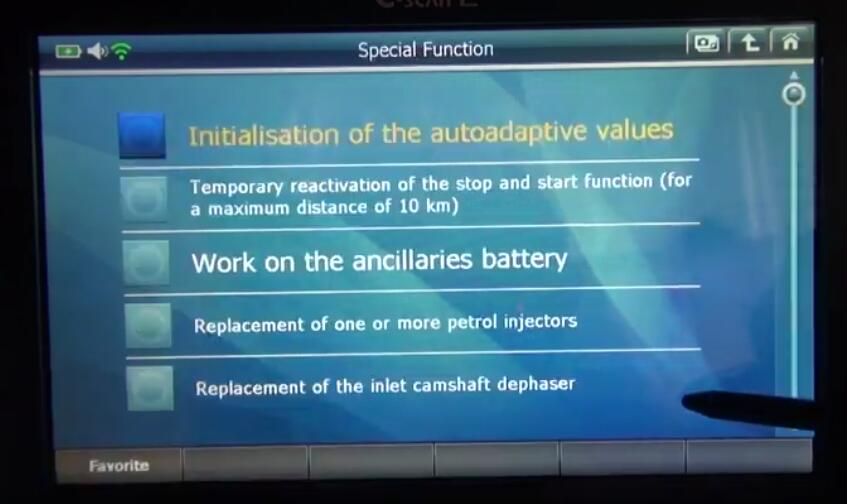 G-scan2 Initialize Adaptive Values for Citroen C3 2017 (6)