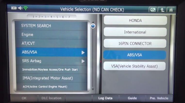 Gscan2 Honda HR-V 2015 EPB Sensor Calibration After G Sensor Replacement (4)