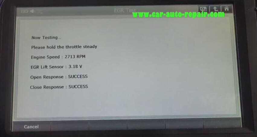 Gscan2 Perform EGR Test for Honda VEZEL Hybrid 2015 (15)