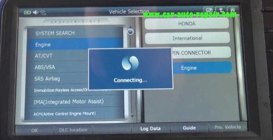 Gscan2 Perform EGR Test for Honda VEZEL Hybrid 2015 (4)