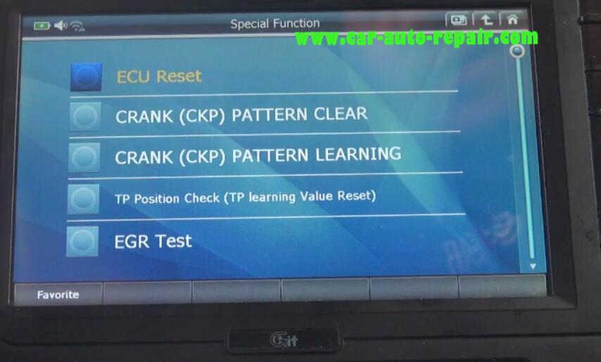 Gscan2 Perform EGR Test for Honda VEZEL Hybrid 2015 (6)