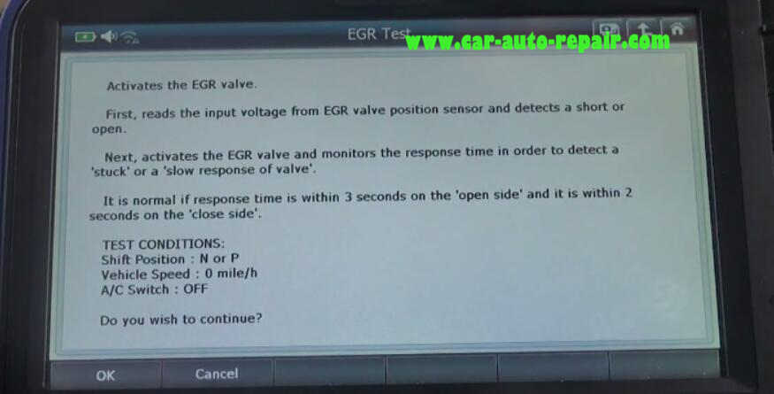Gscan2 Perform EGR Test for Honda VEZEL Hybrid 2015 (7)