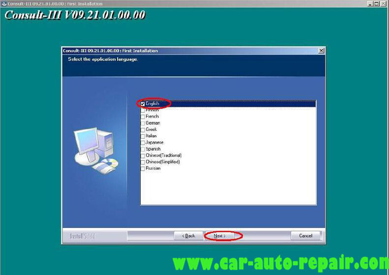 Install Nissan Consult 3 III Plus Diagnostic Software (11)