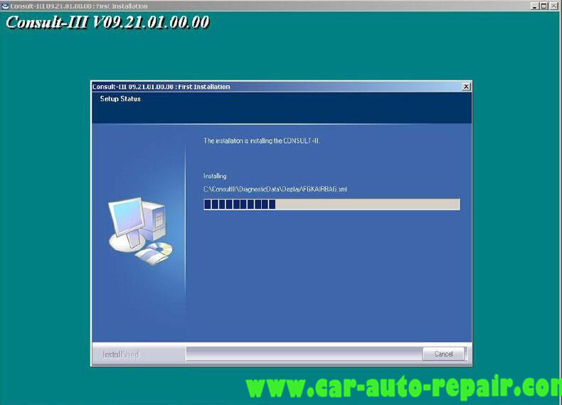 Install Nissan Consult 3 III Plus Diagnostic Software (13)