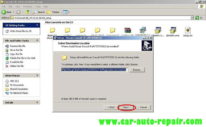 Install Nissan Consult 3 III Plus Diagnostic Software (3)