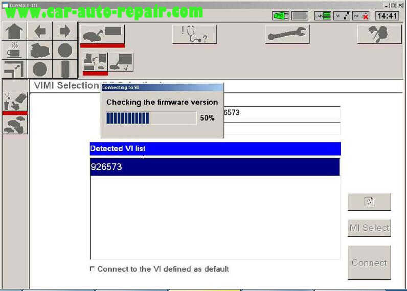 Nissan Consult 3 Plus Diagnos Read DTCs for Infiniti FX3545 2003 (10)