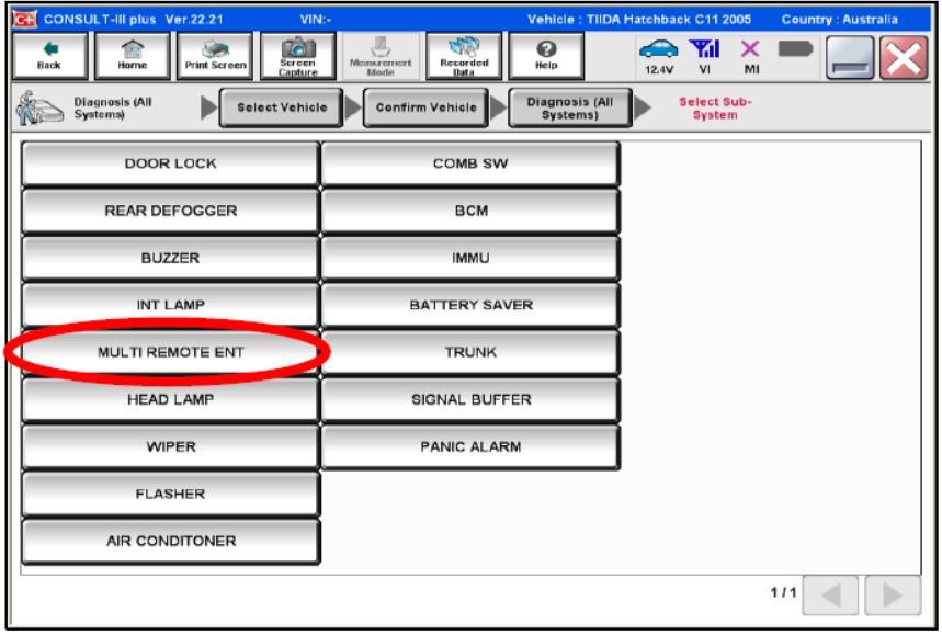 Nissan Consult 3 Plus Program Keyless Remote (2)