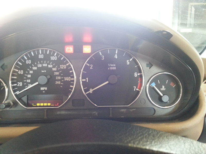 Remove and Disassemble Instrument Cluster for BMW Z3 (15)