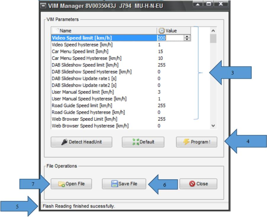 VCP System Coding VW VIM Video In Motion Guide |Auto Repair