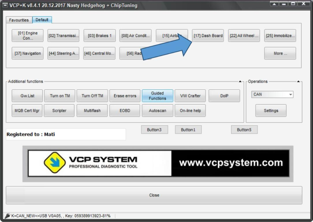VCP System ECU Flasher Update Original ECUs (1)