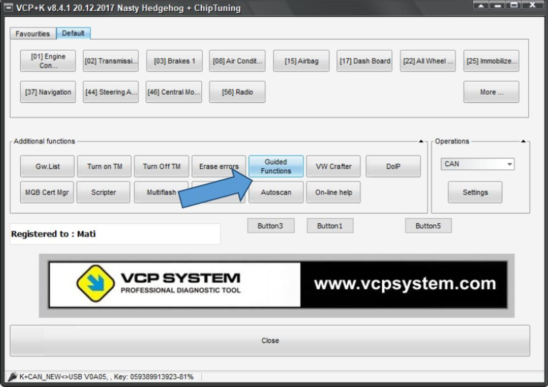 VCP System Unlock Speed Index for VW Golf 7 (1)