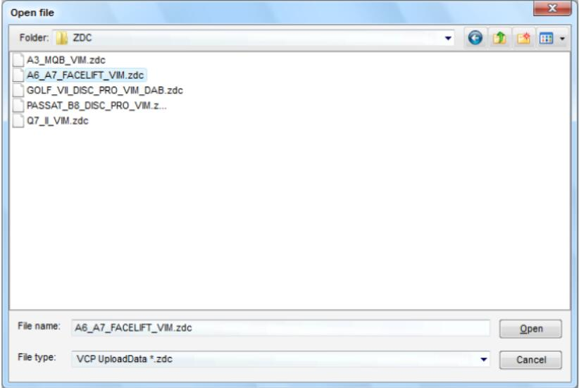 VCP System Unlock Speed Index for VW Golf 7 (7)
