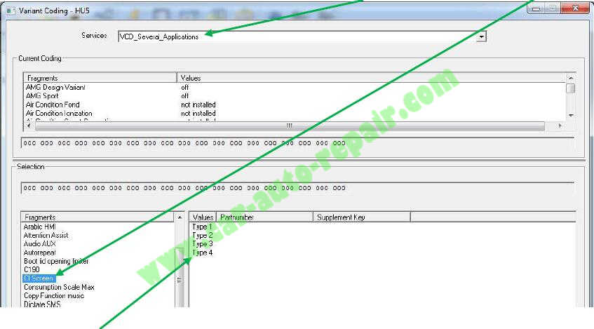 Benz W222 HU5 Video In Motion Coding by Vediamo (4)