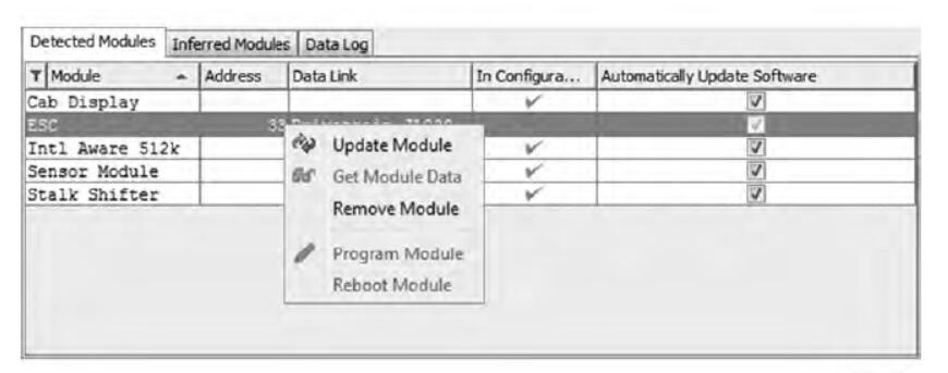 Diamond Logic® Builder Update Vehicle Control Modules (1)