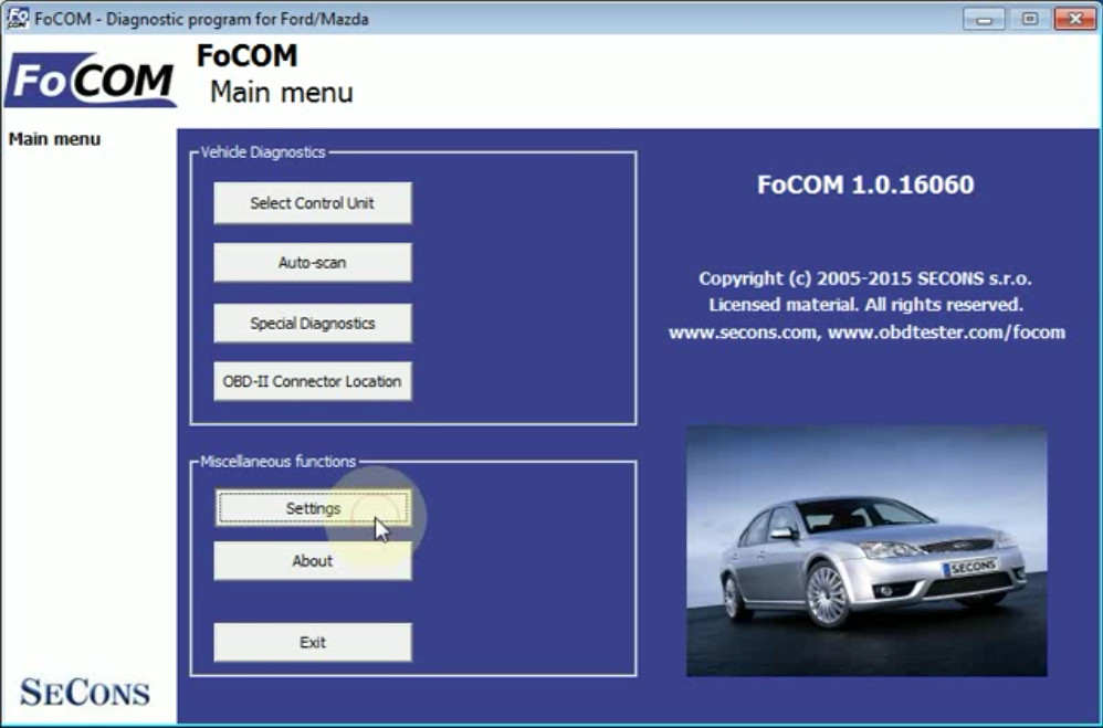 FCOM BCM Trailer Hitch Type Configuration for Ford Focus 2011 (1)
