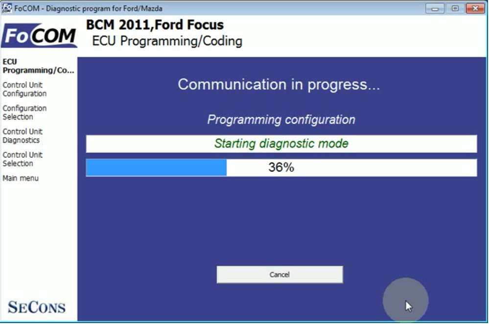 FCOM BCM Trailer Hitch Type Configuration for Ford Focus 2011 (13)