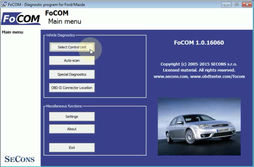 FCOM BCM Trailer Hitch Type Configuration for Ford Focus 2011 (3)