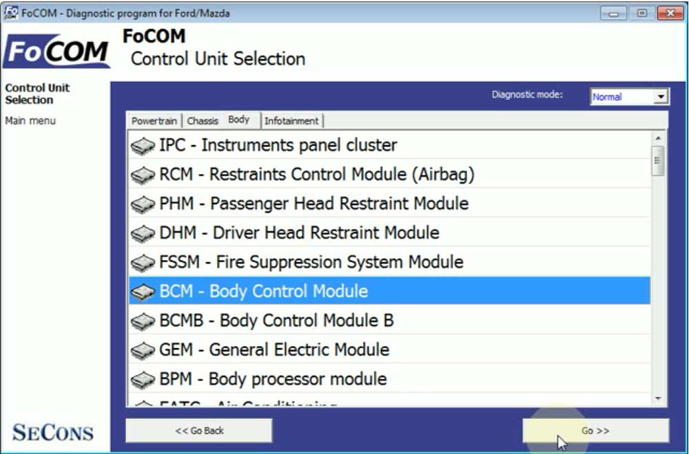 FCOM BCM Trailer Hitch Type Configuration for Ford Focus 2011 (4)