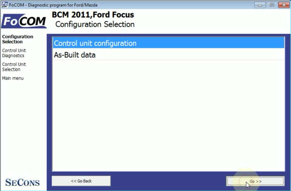 FCOM BCM Trailer Hitch Type Configuration for Ford Focus 2011 (7)