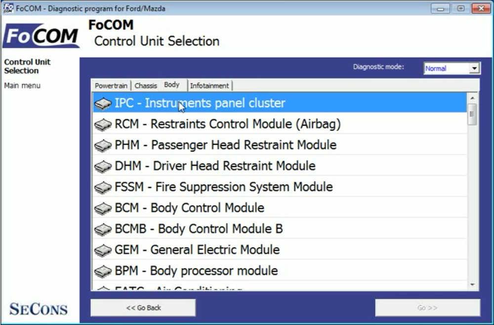 FCOM ReprogramConfigure ECU for Ford Focus 2008 (2)